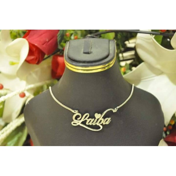 Customized Silver Name Necklace