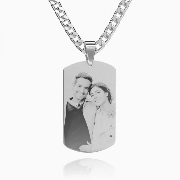 Picture Necklace in Silver