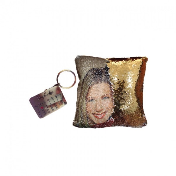 Pack of Magic Pillow and Metal Key-chain