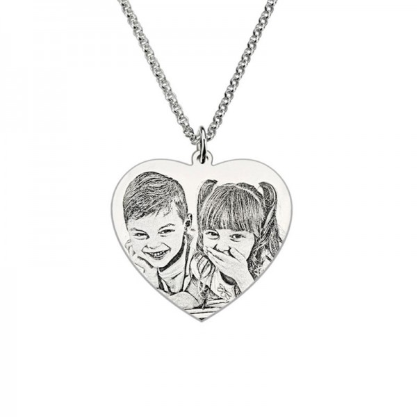 Personalised Picture Pendent