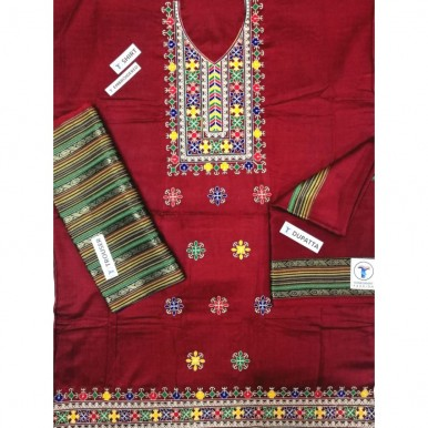 Embroidered Sussi dress embroidered gala work