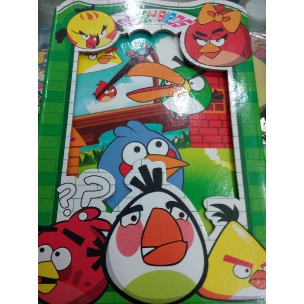 Angry Bird Fancy Lock Diary - Medium