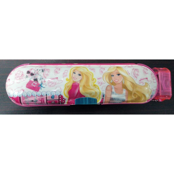 Barbie Cartoon Character Pencil Box for kids