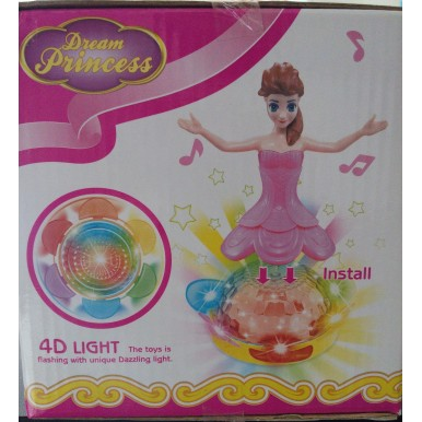 Battery Operated Princess Doll Toy for Girls