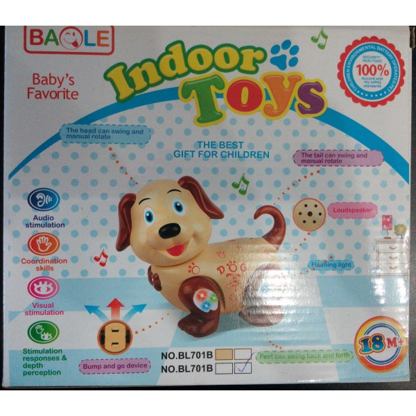 Dancing and Moving Puppy Toy