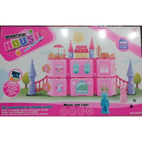 Decent Pink Castle for Girls