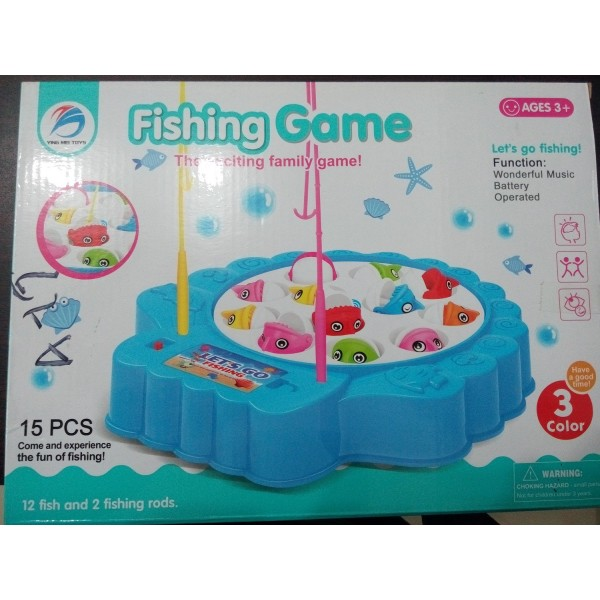 High Quality Battery Operated Fishing Game