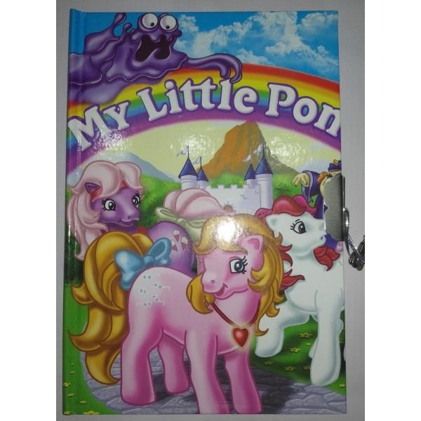 Little Ponies Fancy Lock Diary - Small