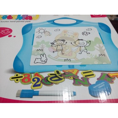 Multifunction Large Magnetic Whiteboard for Kids