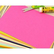 Pack of Pink Colored Paper A4 80gsm