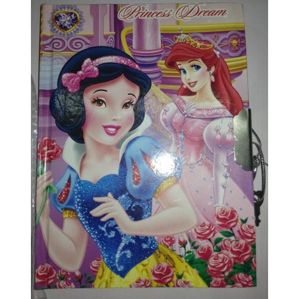 Princess Fancy Lock Diary - Mini