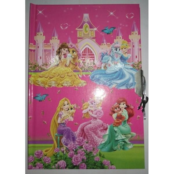 Princess Fancy Lock Diary - Small