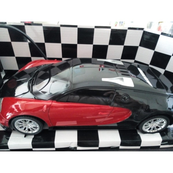 Red and Black 1:16 Remote Control Rechargeable Car for kids