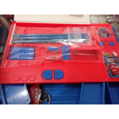 Large Button Cars fancy pencil box for kids