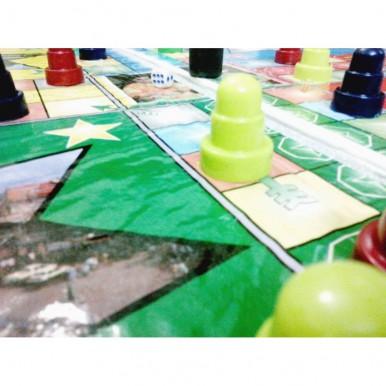 4-player XL Ludo Board game