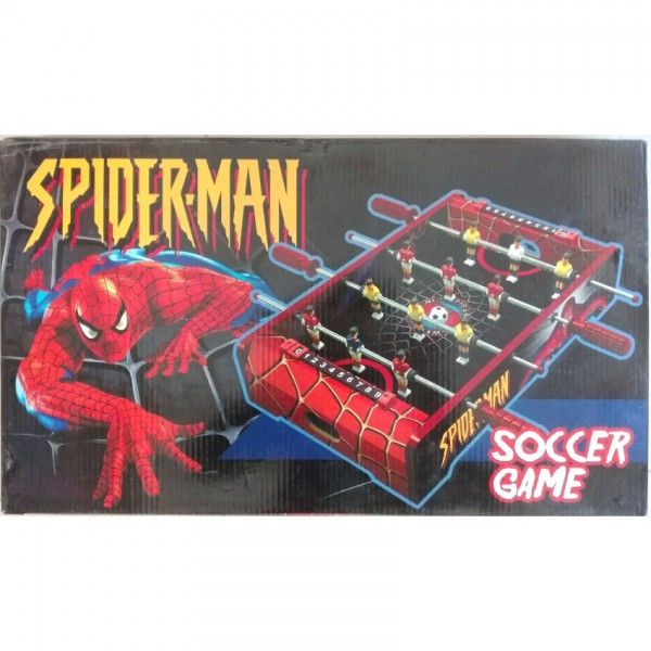 Spiderman Wooden Small-size Soccer Game