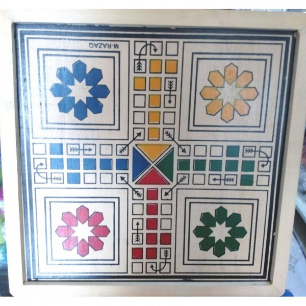 High Quality Small size 4-player Wooden Ludo