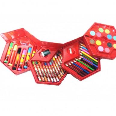 46-pc Art colour box for kids