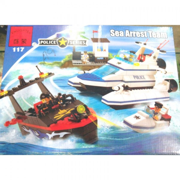450 pcs Marine Police Blocks Set