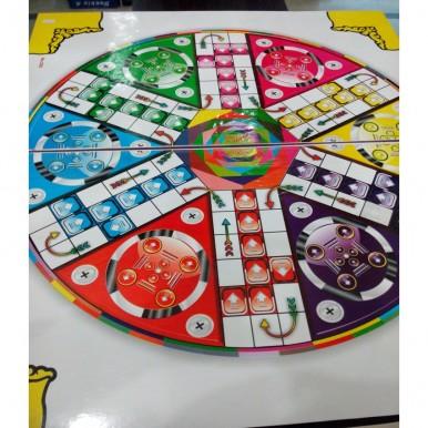 6 Player XXL Ludo Board Game