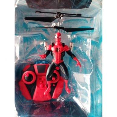 Rechargeable Remote Control Flying Spiderman Toy for Kids
