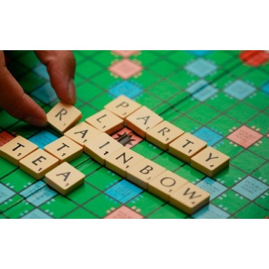 Large Good Quality Scrabble Board Game