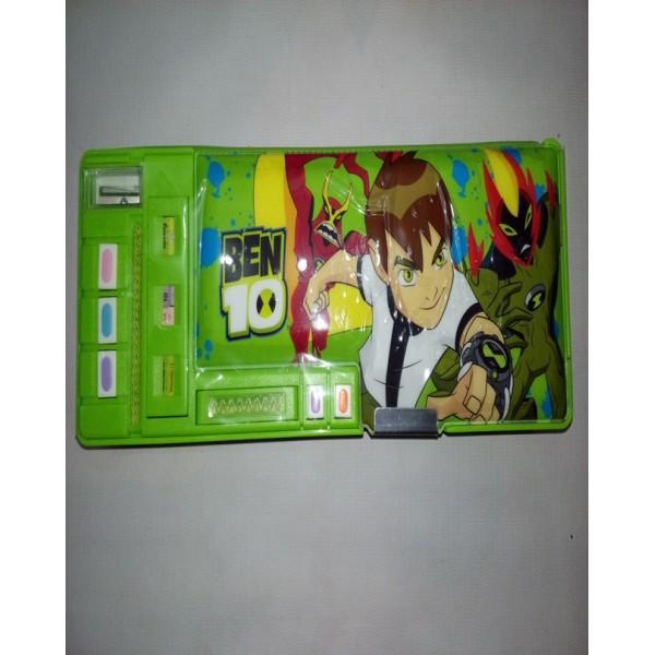 Colourful Super Ben 10 Pencil Box for Kids