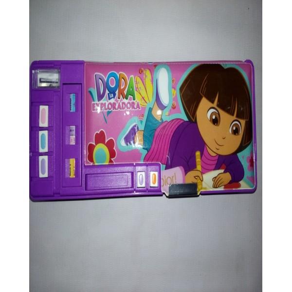 Colourful Super Dora Pencil Box for Kids
