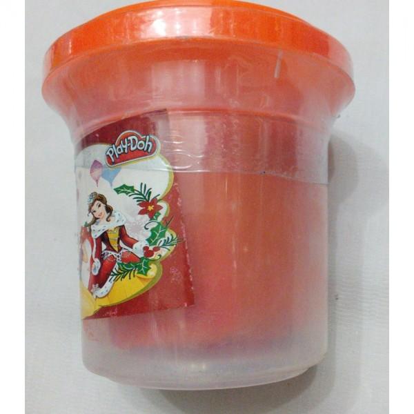 1-Colour Play Dough for Kids - Orange