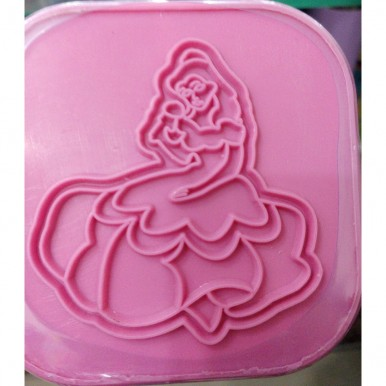 1-Colour Play Dough for Kids - Pink Medium