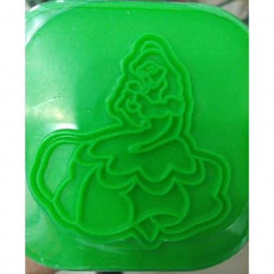 1-Colour Play Dough for Kids - Light Green Medium