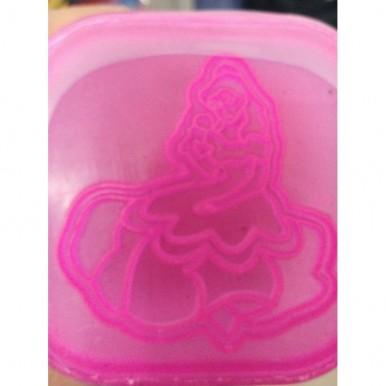 1-Colour Play Dough for Kids - Dark Pink Medium