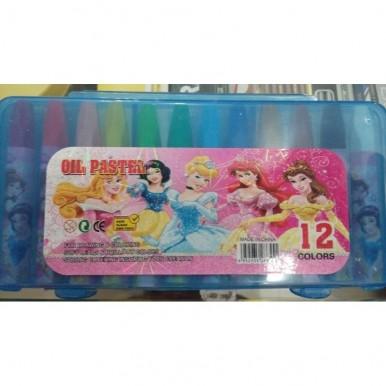 12 Good Quality Colour Pastels