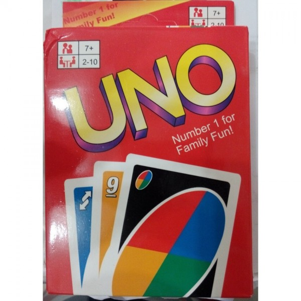 High Quality UNO Card Game for Kids