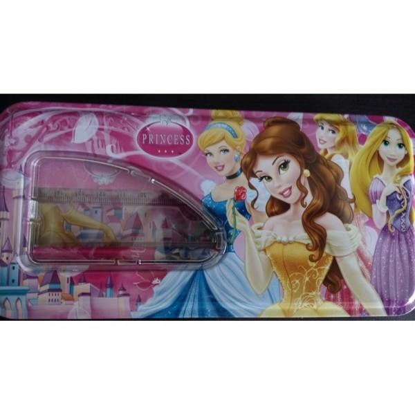 Princess Pencil Box with accessories
