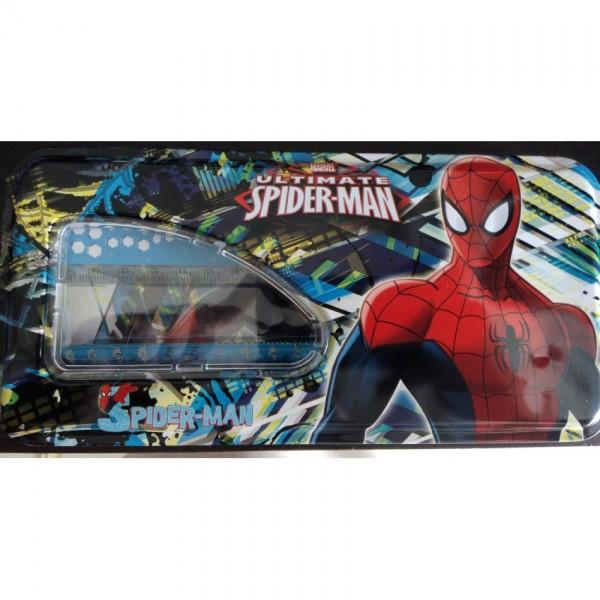 Spiderman Pencil Box with accessories