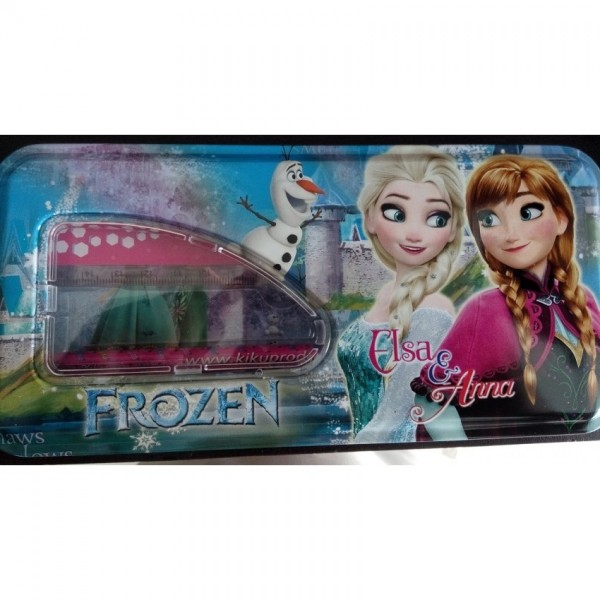 Frozen Anna and Elsa Pencil Box with accessories