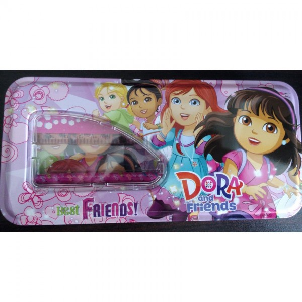 Dora Pencil Box with accessories
