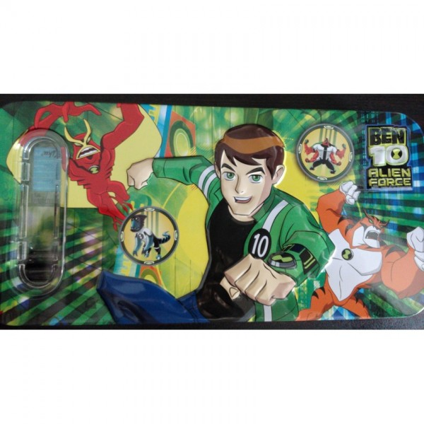 3D Ben 10 Pencil Box with accessories
