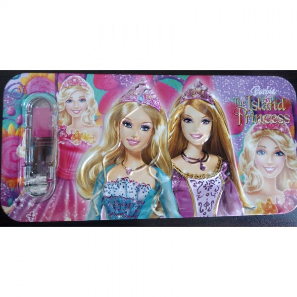 3D Barbie Pencil Box with accessories