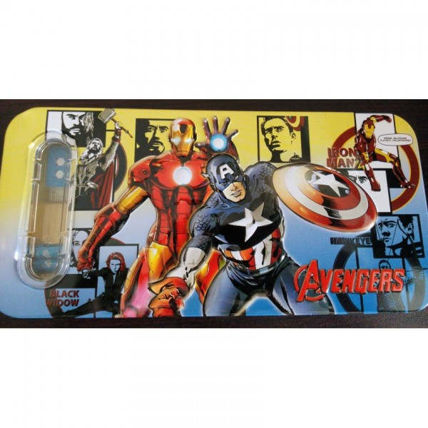 3D Avengers Pencil Box with accessories