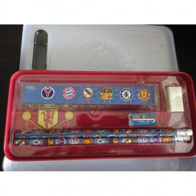 3D Cars Pencil Box with accessories