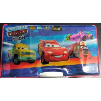 Large Simple Cars fancy pencil box for kids