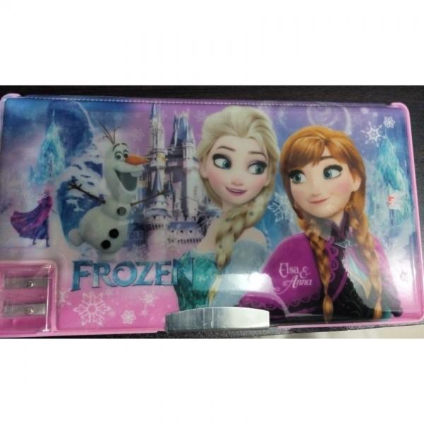 Large Simple Frozen fancy pencil box for kids