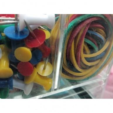 Deli Stationery Set (set of stationary pins)