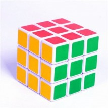 Medium Quality Rubik Cube Puzzle