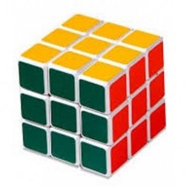 Medium Quality Rubik Cube Puzzle