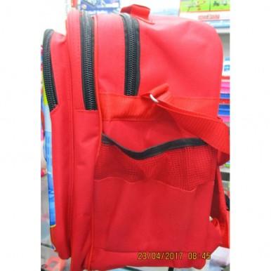 3D-Cartoon Character School Bag - large size