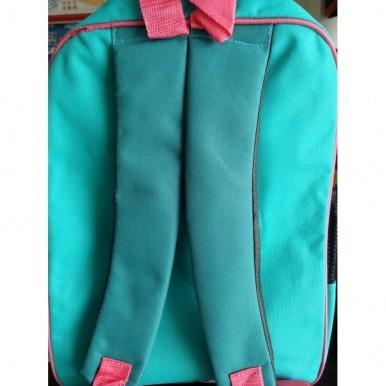 3D-Cartoon Character Anna and Elsa School Bag