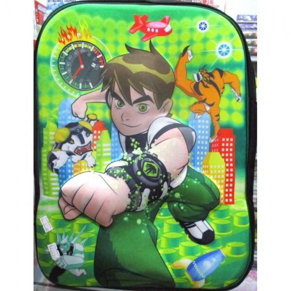 Ben 10 3D-Cartoon Character School Bag